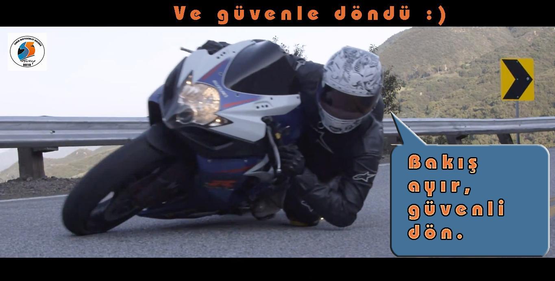 motosiklet bakış ayır sark hangoff yatık motosiklet görseli