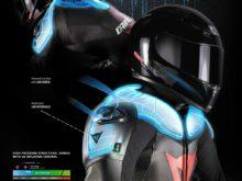 motosiklet sürücüsü airbag