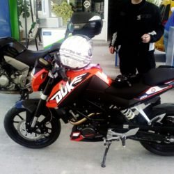 KTM Duke 200 - 2013 benzinlik 2