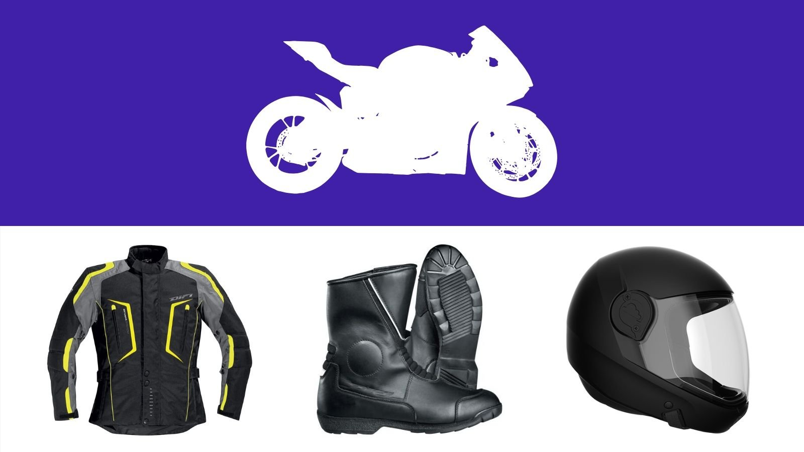 Motosiklet Kıyafet Ve Donanım (Kask, Dizlik, Vb.)