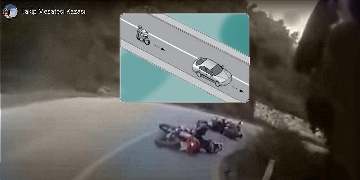 motosiklet takip mesafesi kazası kapak