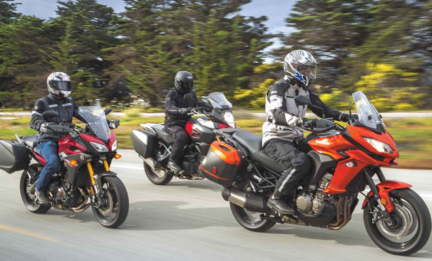 Büyük Gezi Motosikletleri: VERSYS 1000 LT | V-STROM 1000 | FJ-09 - Karşılaştırma kapak