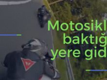 Motosiklet baktığın yere gider kapak