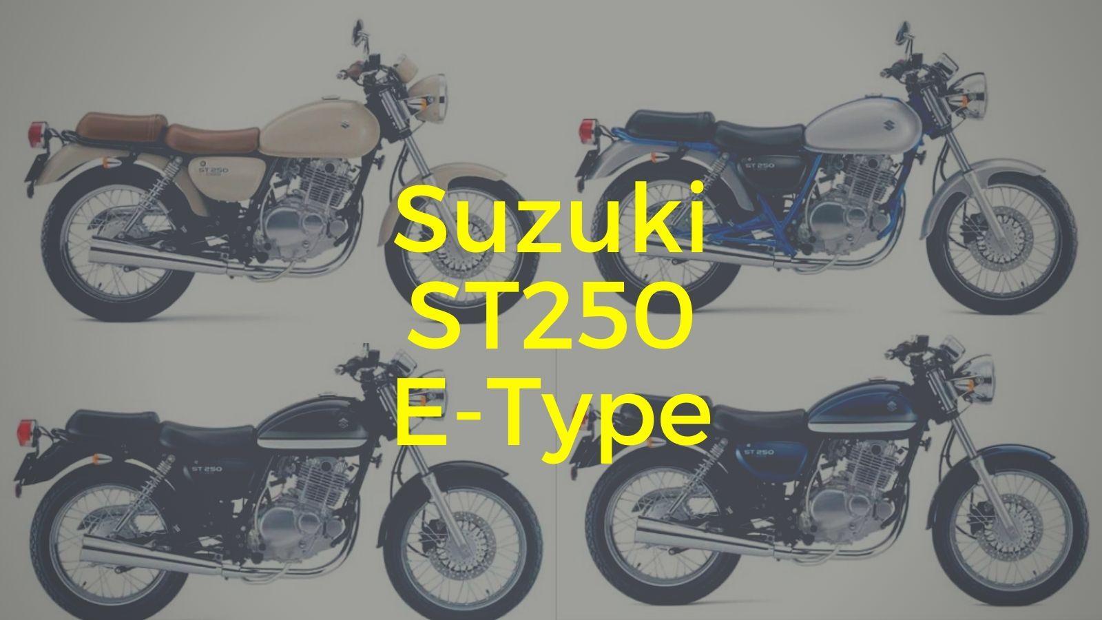 Suzuki ST250 E-Type kapak