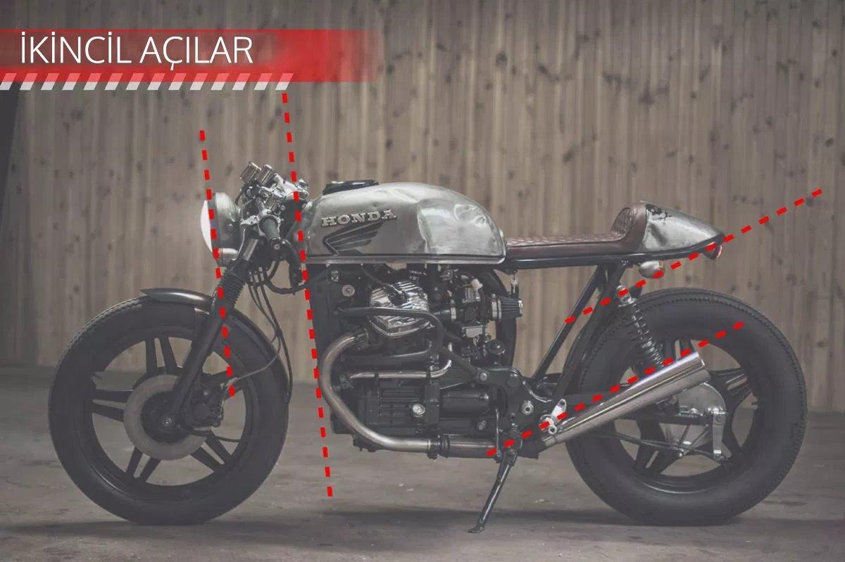 CAFE RACER özel yapım motosiklet nasıl tasarlanmalı - ikincil açılar