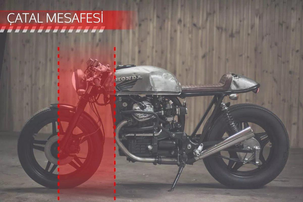 CAFE RACER özel yapım motosiklet nasıl tasarlanmalı - çatal mesafesi