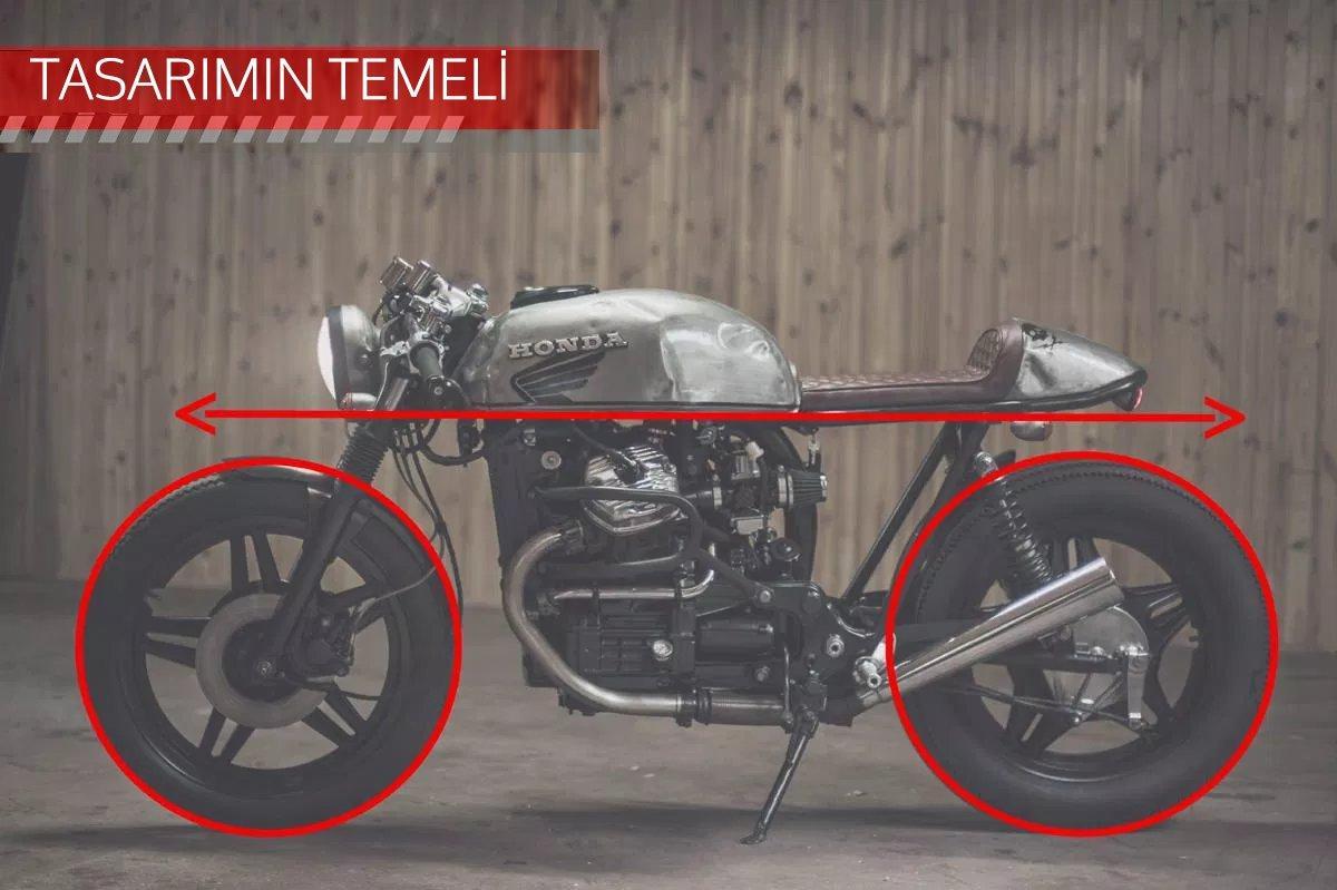CAFE RACER özel yapım motosiklet nasıl tasarlanmalı - tasarım temelleri