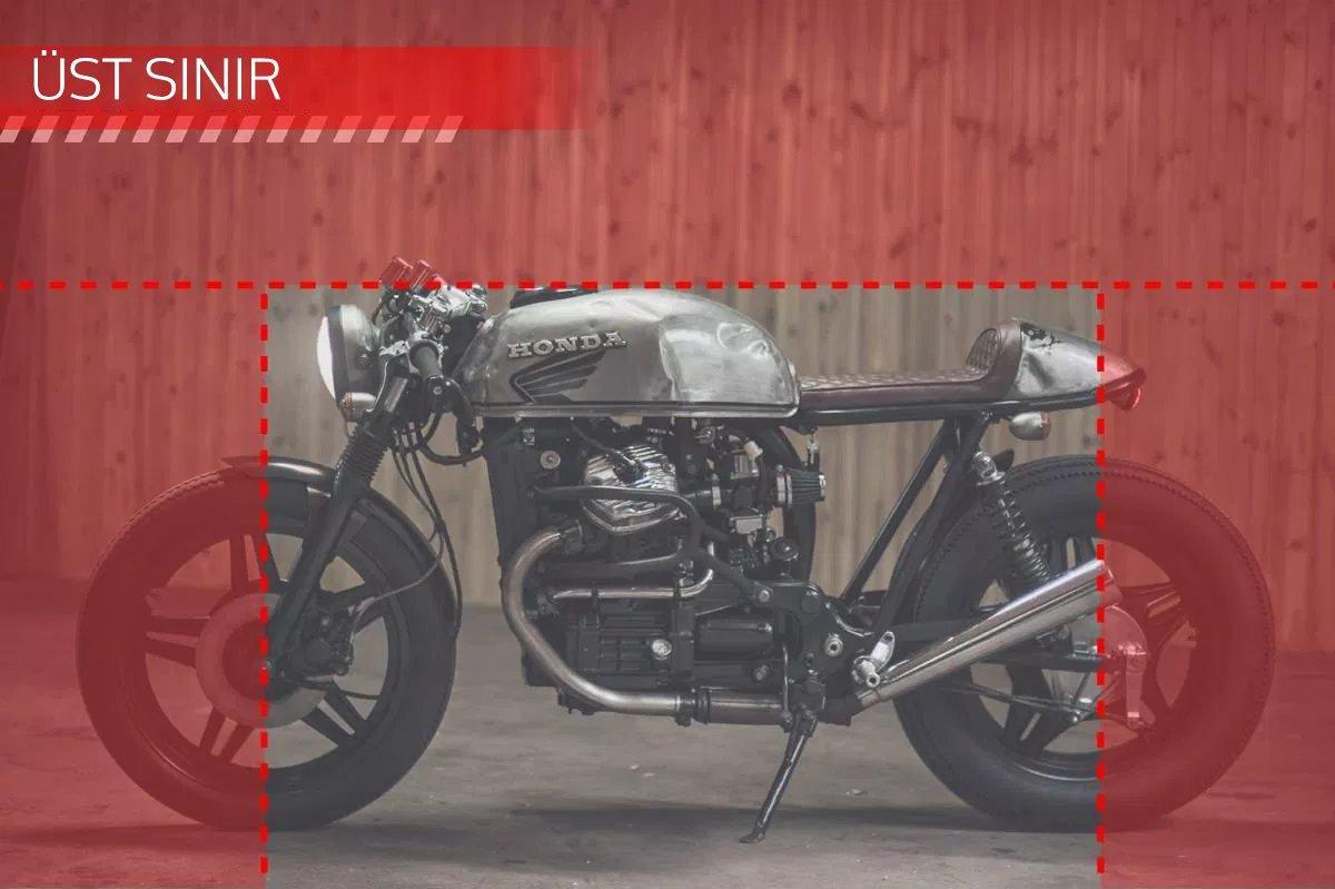 CAFE RACER özel yapım motosiklet nasıl tasarlanmalı - yükseklik limiti