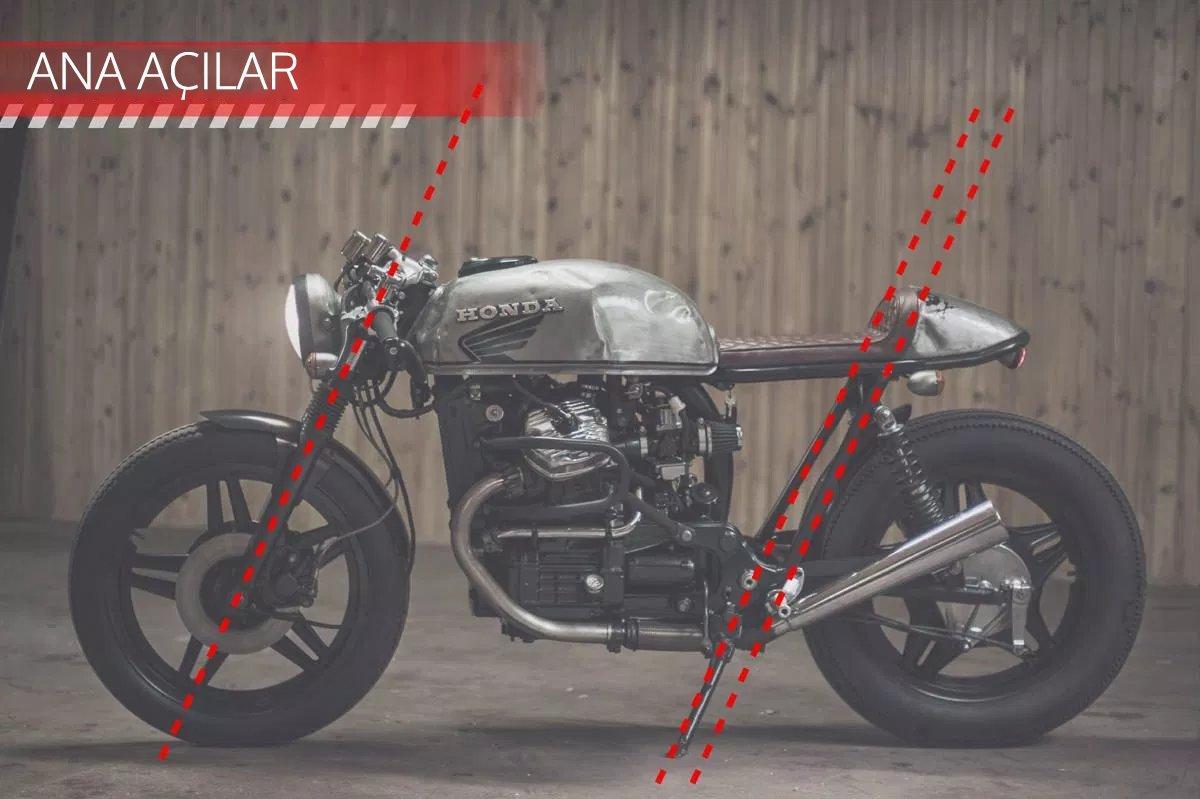 CAFE RACER özel yapım motosiklet nasıl tasarlanmalı - ana açılar