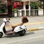 Motoran Allegro sokakta