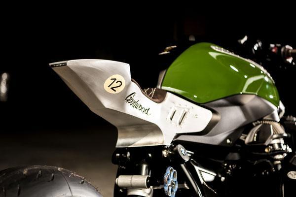 VTR Customs - BMW özel yapım custom motosiklet, R1200 R Goodwood.