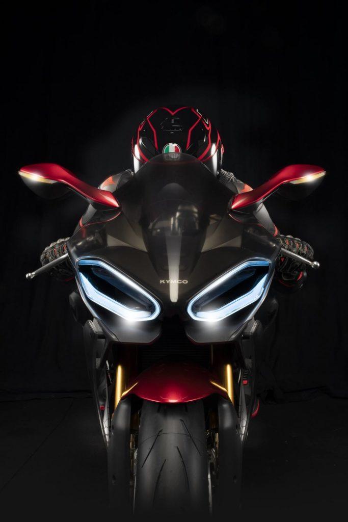 kymco superNEX elektrikli motosiklet