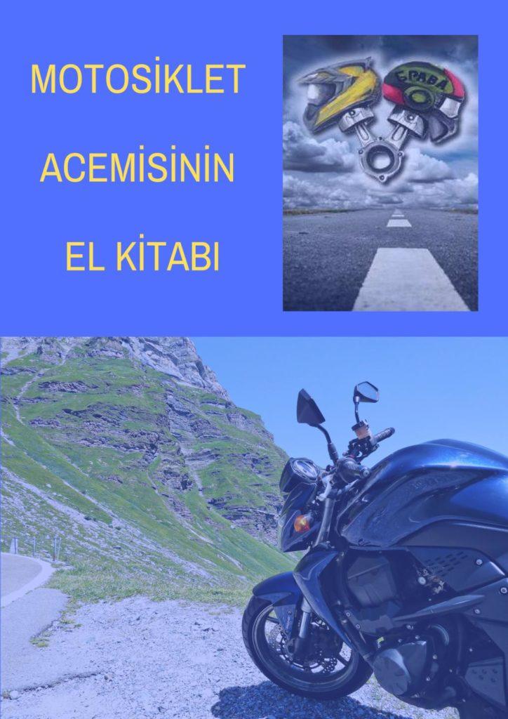 Motosiklet Acemisinin El Kitabı Kapak