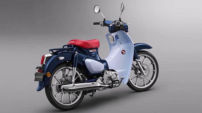 Honda 2019 Super Cub mavi beyaz 4