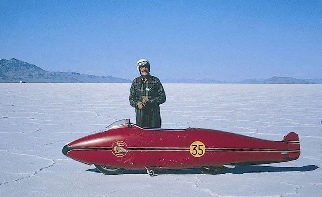 Burt Munro - Tuz Gölü