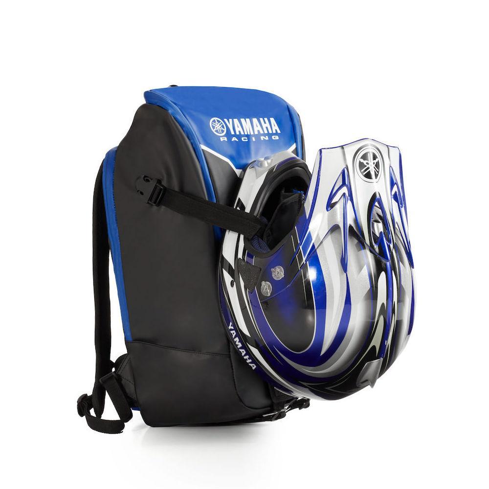 yamaha sırt çantası - ön kask taşıma 2