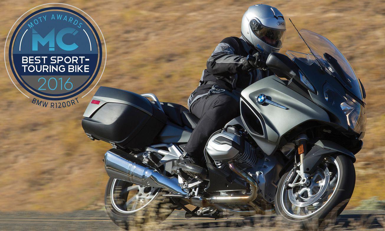 yılın motosikleti 2016 - bmw r1200rt