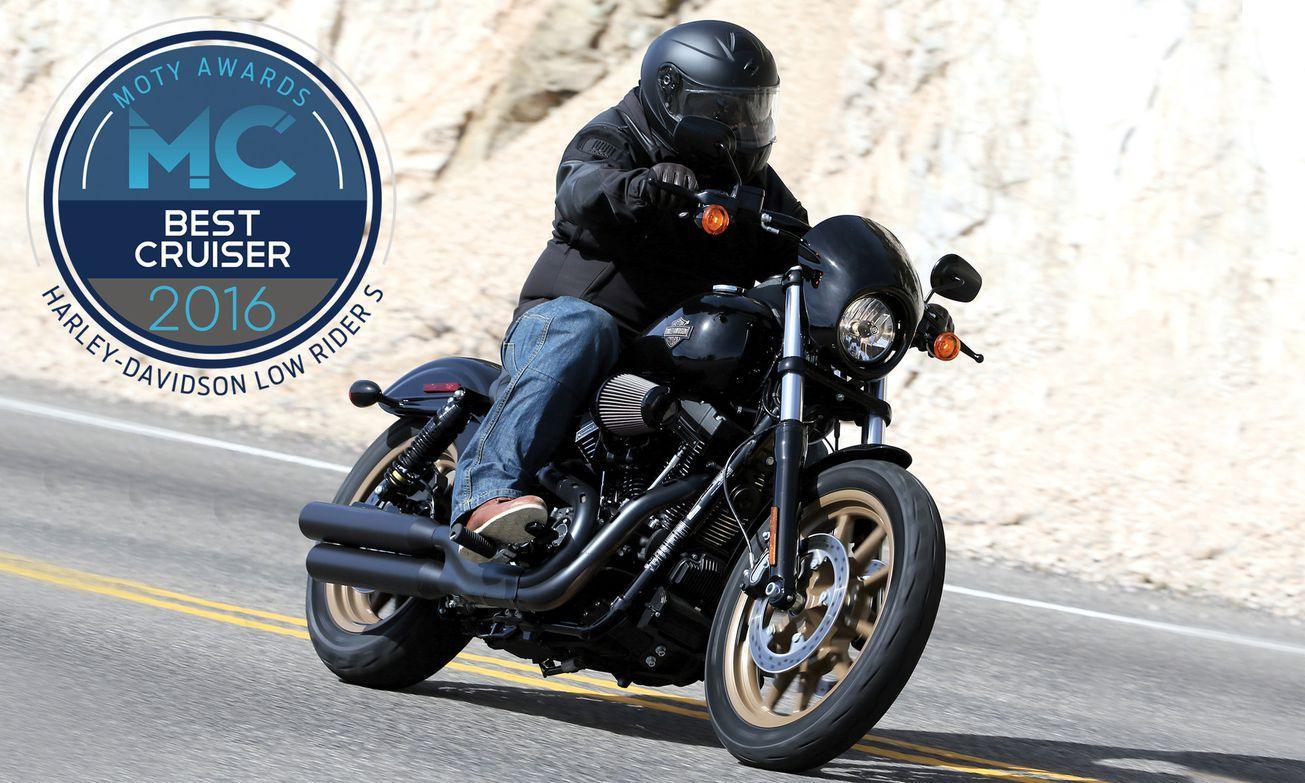 yılın motosikleti 2016 - harley davidson low rider s
