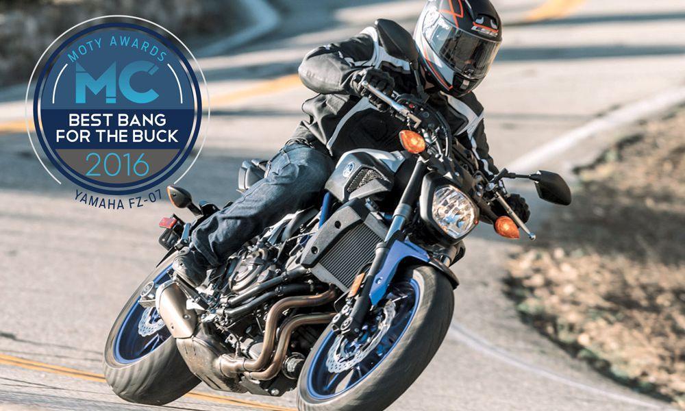 yılın motosikleti 2016 - yamaha fz 07