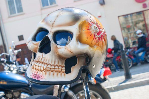 Motosiklet Kaskı Boya kuru kafa kask