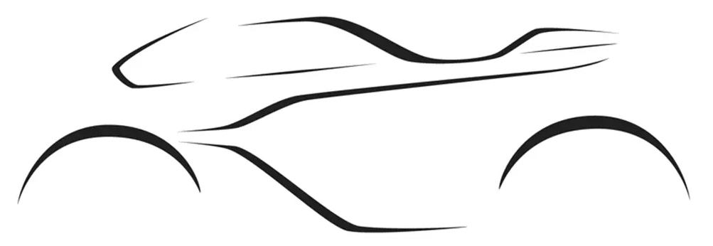 ASTON MARTIN BROUGH SUPERIOR: AMB 001 çizim