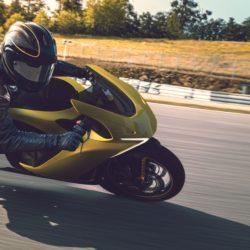 Damon Hypersport HS sarı - viraj