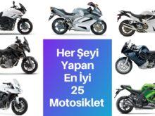 her şeyi en iyi yapan 25 motosiklet