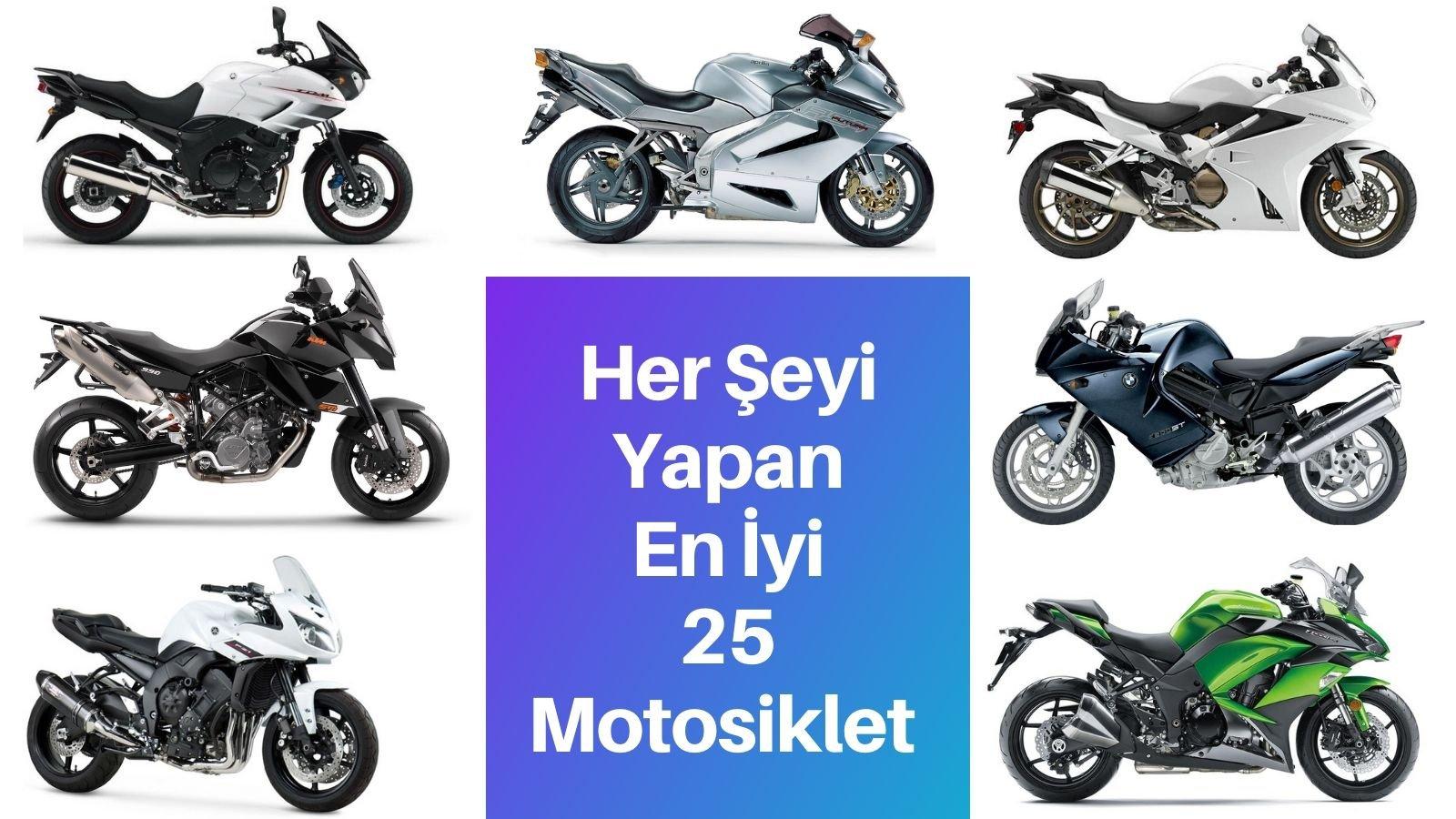 Her İşi Yapan En İyi 25 Motosiklet
