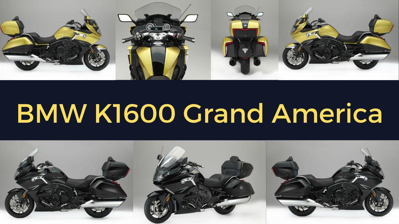 BMW K1600 Grand America kapak