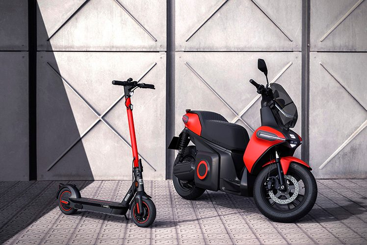 seat e-scooter ve elktrikli kaykay