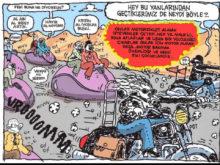 umut sarıkaya motosiklet karikatür