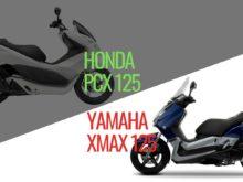 KARŞILAŞTIRMA HONDA PCX125 - YAMAHA X-MAX 125