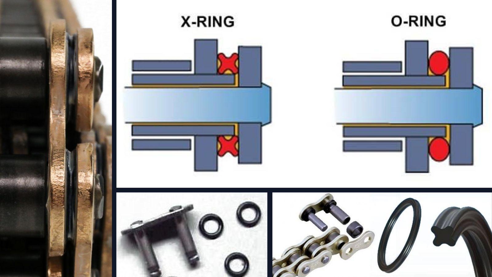 Zincir: O-Ring ve X-Ring nedir?