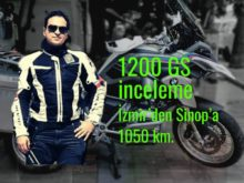 r 1200 GS İzmir'den Sinop'a 1050 km.
