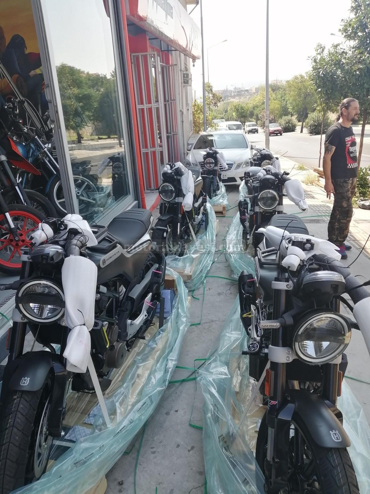 sıfır motosiklet nasıl gelir - iniş, naylon açma dik