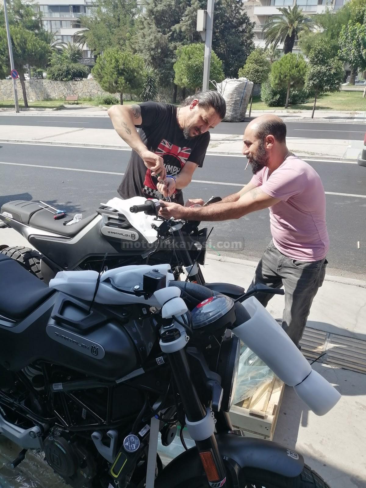 sıfır motosiklet nasıl gelir - montaj 1