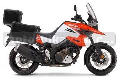2021 Suzuki V-Strom 1050XT Tour İlk-Bakış adventure-touring kırmızı sağ yan
