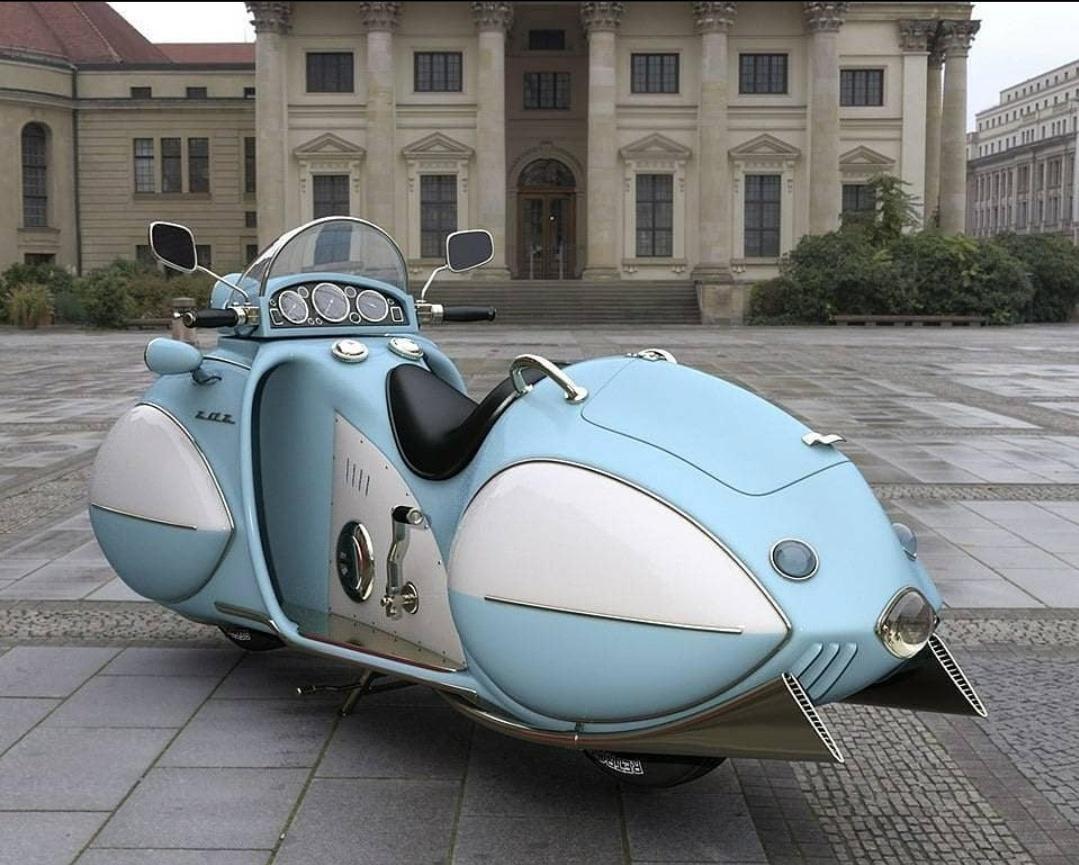 1934 Streamline KJ Henderson yatay