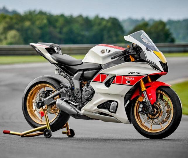 Yamaha 60. Yıl - R7 yakın çekim